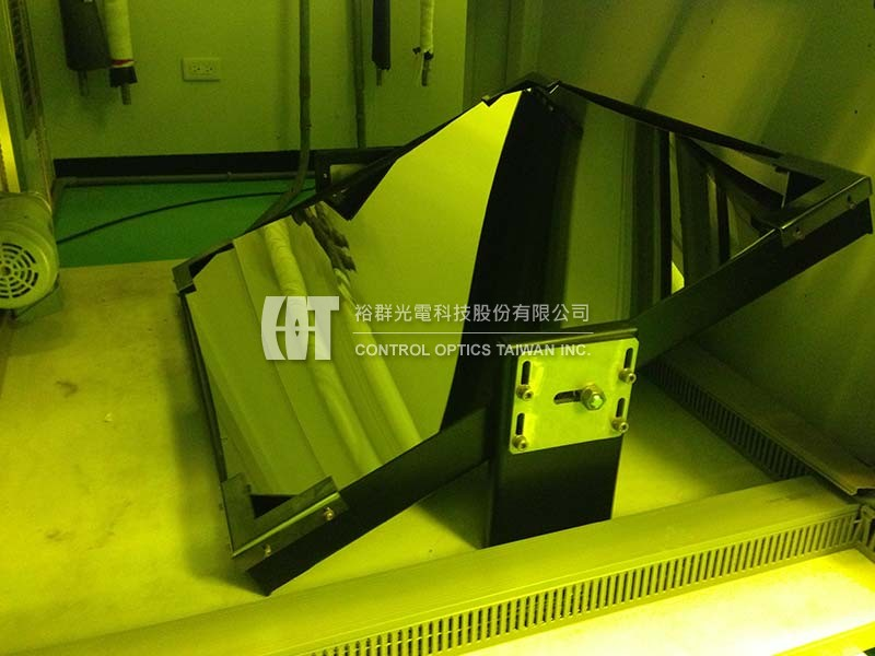 Lens system renovation for UV exposure system- Control Optics Taiwan, Inc